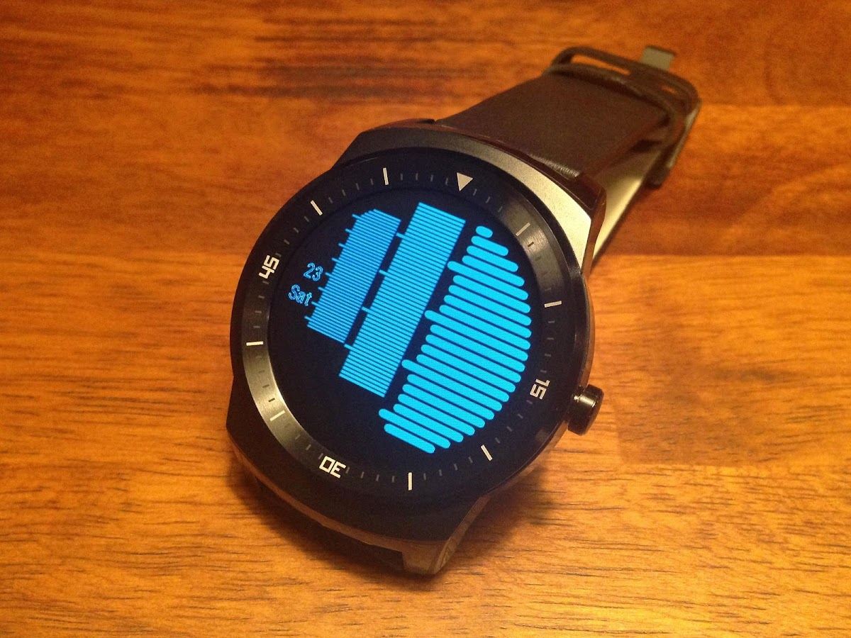 Bars Watch Face- screenshot