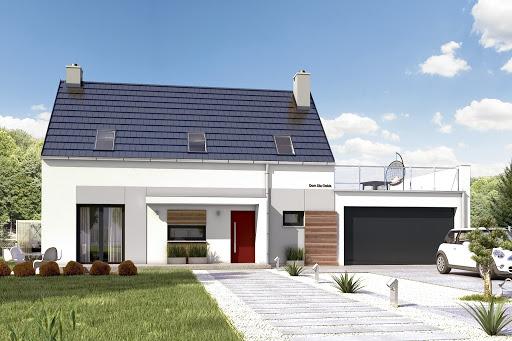 projekt Eco 5 z garażem 2-st. A1