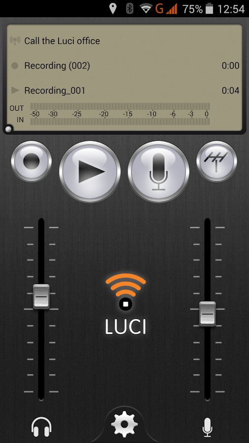 LUCI LIVE- screenshot