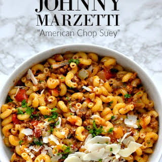Comfort Food- 'Famous' Johnny's Pasta.
