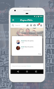 Progress Photos - Social Fitness App- screenshot thumbnail