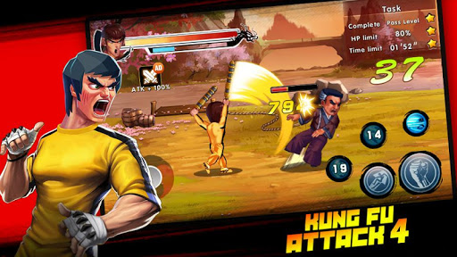 Kung Fu Attack 4 - Shadow Legends Fight 1.0.9.101 screenshots 11