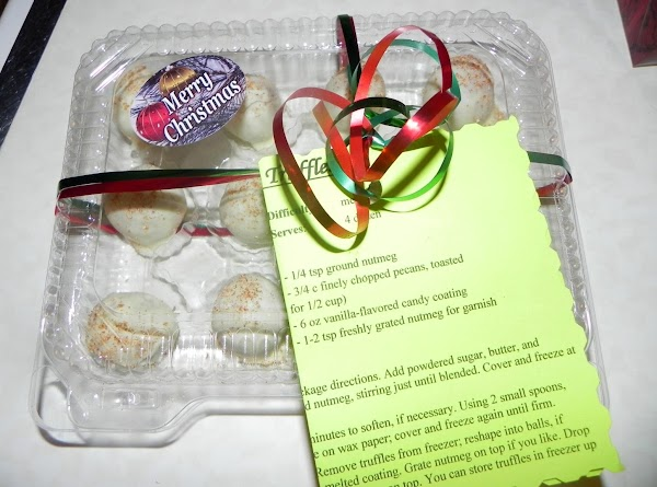 I made these truffles for my cookie exchange that I had on 12/9/12. I...