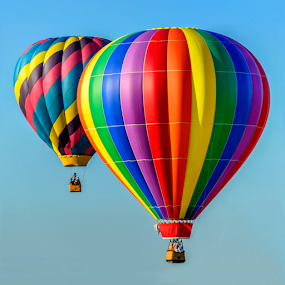 Up, Up and away by Giancarlo Bisone - Transportation Other ( colors, festival, balloon, nj, lifting )