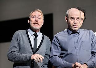 Photo: Wien/ Theater in der Josefstadt: KAFKA - EIN PROJEKT VON ELMAR GOERDEN. Premiere 25.4.2015. Regie: Elmar Goerden. Andre Pohl, Peter Kremer-  Foto: Barbara Zeininger