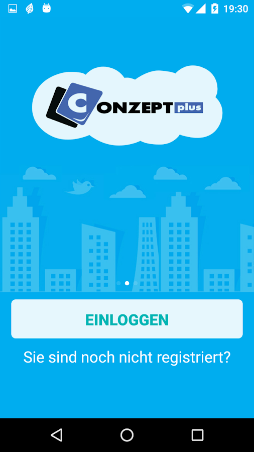 CONZEPTplus – Screenshot