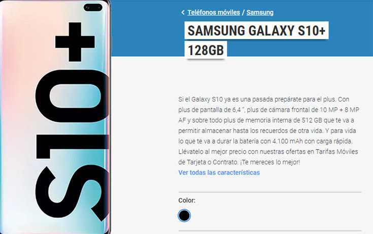Móviles libres y baratos de Samsung