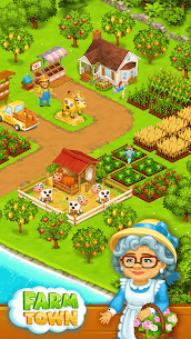 Farm Town: Happy farming Day & food farm game City 9