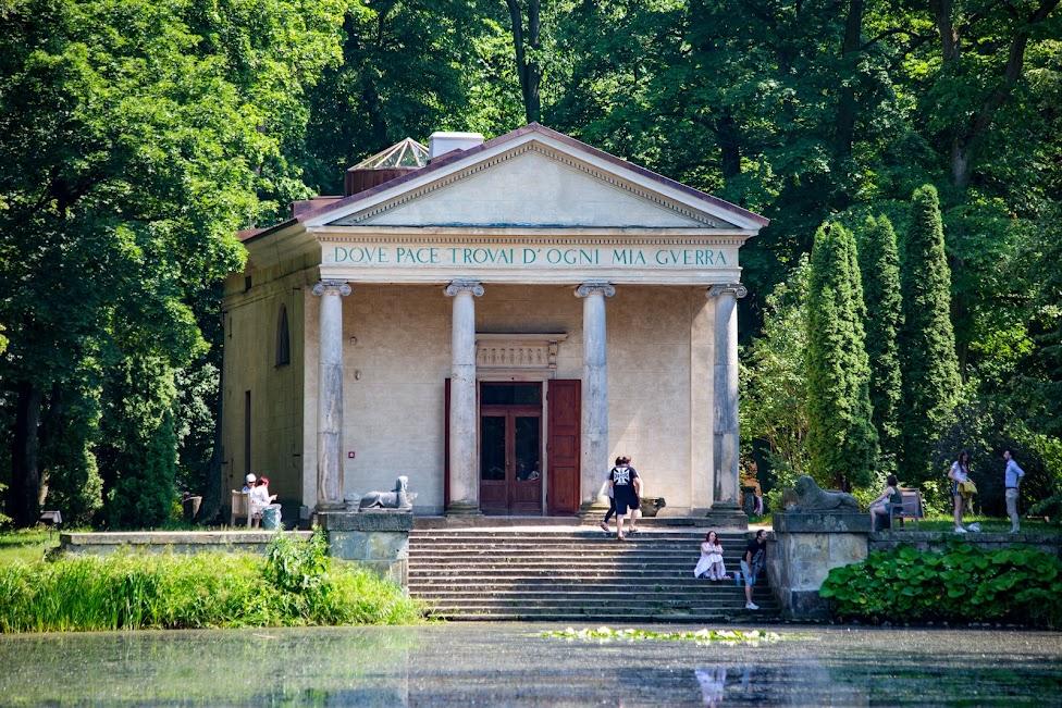 Arkadia, Świątynia Diany, Polska