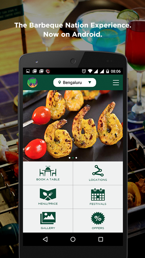 Barbeque Nation- screenshot