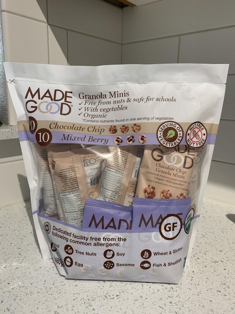 Granola Minis (Chocolat Chip And Mixed Berry Variety Pack)