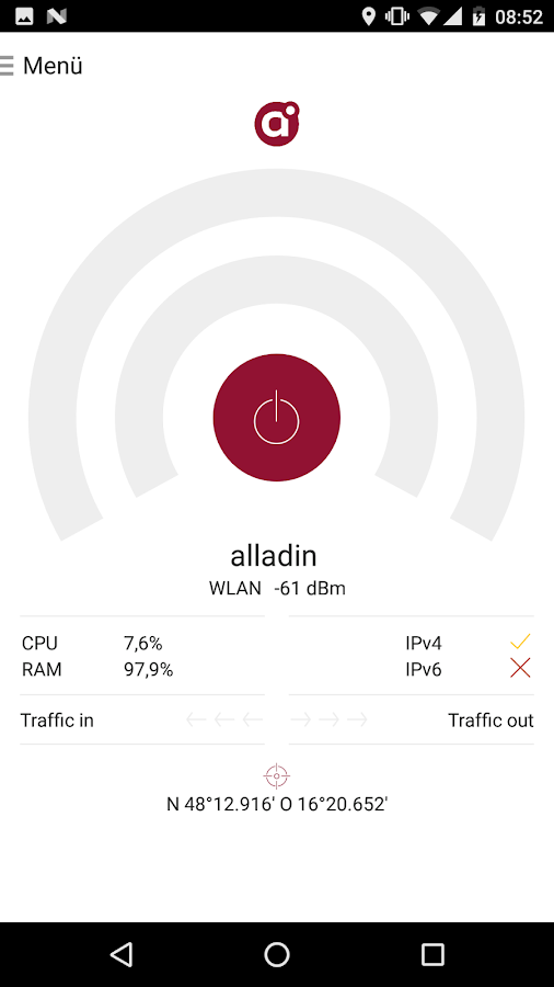 alladin Nettest- screenshot
