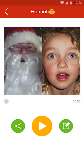 Video Call Santa screenshot