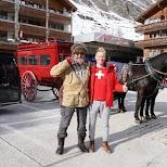 Meeting Swiss locals in Zermatt in Zermatt, Valais, Switzerland