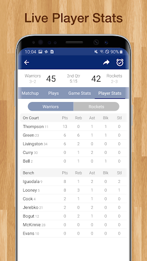Basketball NBA Live Scores, Stats, & Schedules 9.0.17 Screenshots 5