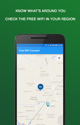 Free WiFi Connect Screenshot