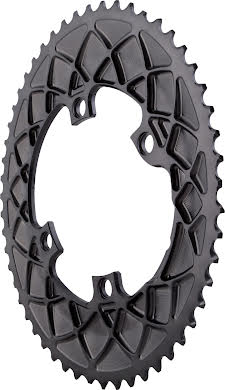 Absolute Black Dura-Ace 9100 Premium Oval Road Outer Chainring alternate image 1