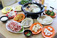 韓香石頭火鍋沙茶爐