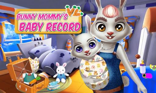兔子妈咪的宝贝日记——时尚萌宠产检 可爱新生儿护理游戏