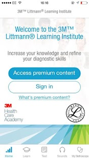 3M Littmann Learning Institute- screenshot thumbnail