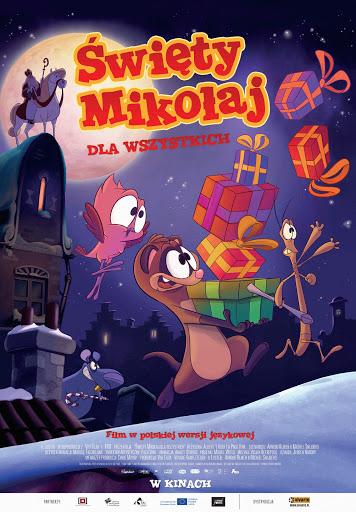 Polski plakat filmu 'Święty Mikołaj Dla Wszystkich'