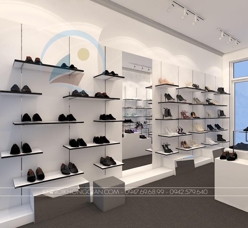 thiết kế shop giày dép Si 8