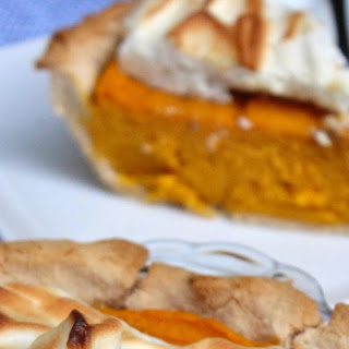 Paleo Sweet Potato Meringue Pie