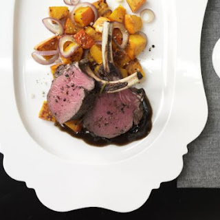 Rack of Venison with Pumpkin