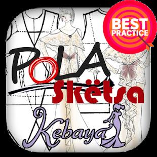 Pola & Sketsa Desain kebaya - náhled