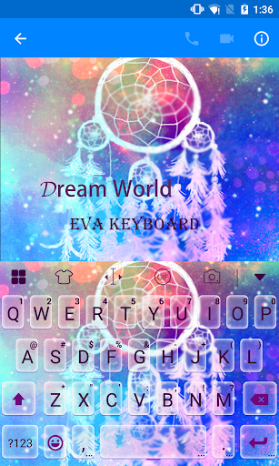 玩免費遊戲APP|下載Dream World Eva Keyboard -Gifs app不用錢|硬是要APP