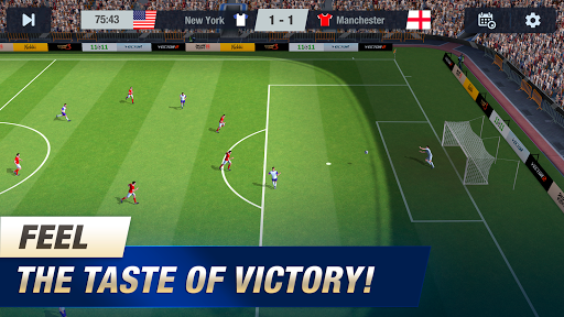 11x11: Soccer Club Manager 1.0.7601 screenshots 2
