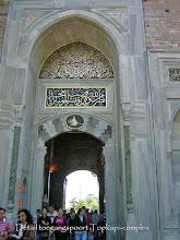 Photo: Entrance Gate to the Topkapi Palace, detail ****** Toegangspoort naar het Topkapi Complex, detail