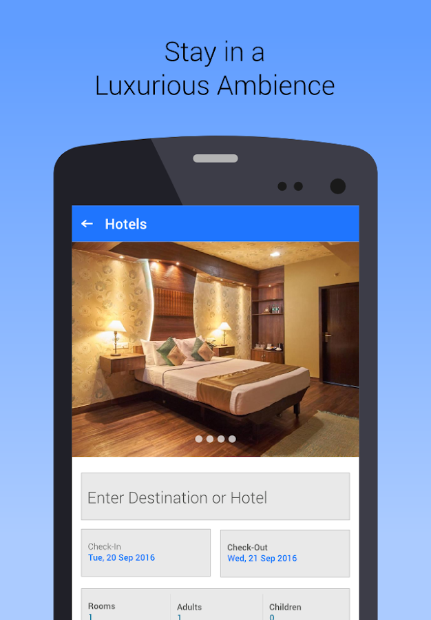 GTDC Goa: Book holiday Hotels- screenshot