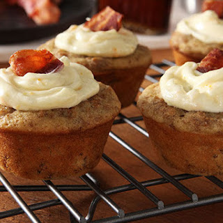 Maple-Bacon Brunch Cupcakes