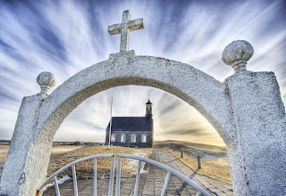 Photo: Church in Iceland - from Trey Ratcliff at http://www.StuckInCustoms.com - all images Creative Commons Noncommercial