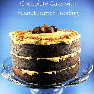 Three Layer Chocolate Cake.