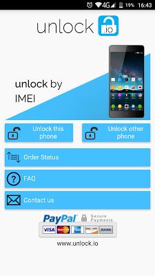 Unlock your ZTE phone - screenshot
