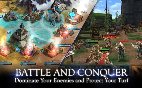 Kingdom of War v 1.1.6 Apk + Obb