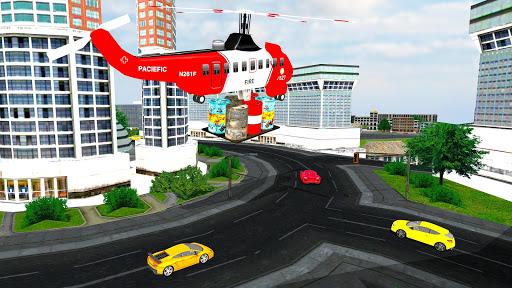 Modern City Gas Station 3D Pickup Truck Refueling  screenshots 3