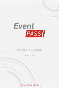 EventPass - náhled