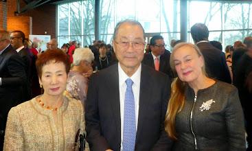 Photo: Z Dyrektorem NSK Europe, Katsuyuki Kambara i jego żoną, Midori