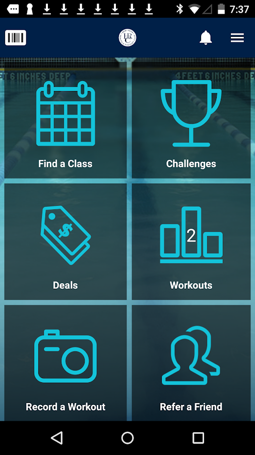 New York Health & Racquet Club- screenshot