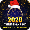 Happy Christmas And New Year Countdown 2020 icon