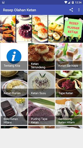 Resep Olahan Ketan screenshot 2