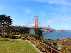 Photo: El famoso Golden Gate