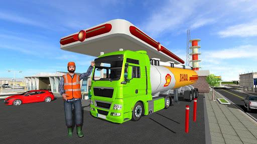 Big Oil Tanker Truck US Oil Tanker Driving Sim screenshots 15
