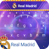 Real Madrid Galactical Keyboard Theme