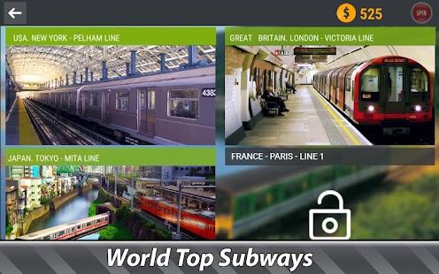 World Subway Simulator Premium Apk