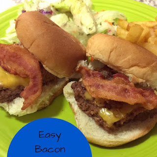 Easy Bacon Cheeseburger Sliders