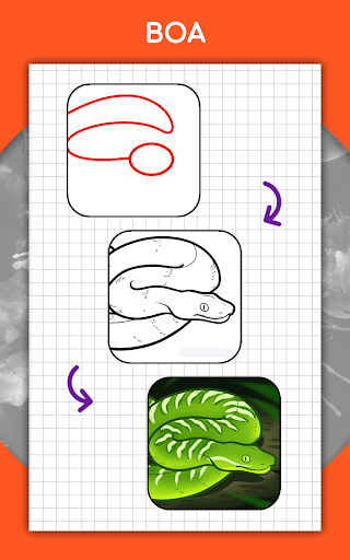 How to draw animals step by step, drawing lessons 1.3 Screenshots 20